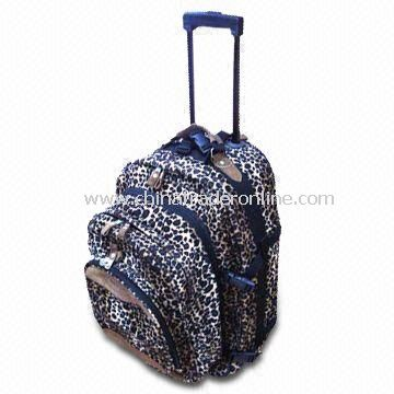 30 x 45 x 20cm Promotional Traveling/Rolling Duffel/Luggage/Backpack Bag with Double Strap