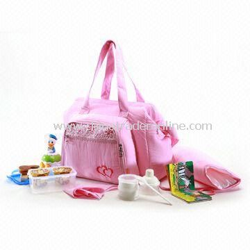 Carry Diaper Bag with Textured Material, Comfortable to Carry