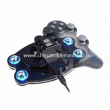 Charge Cradle Controller for PS3 with Blue Light Effect and 5V DC Working Voltage