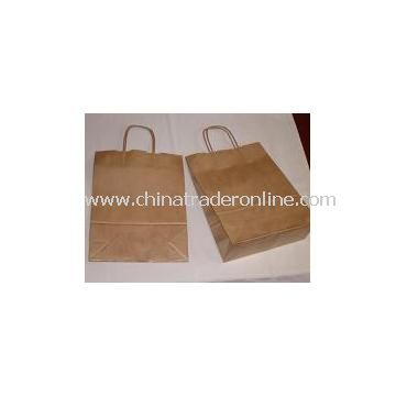 Craft Carry Bags With Twisted Paper Handles from China