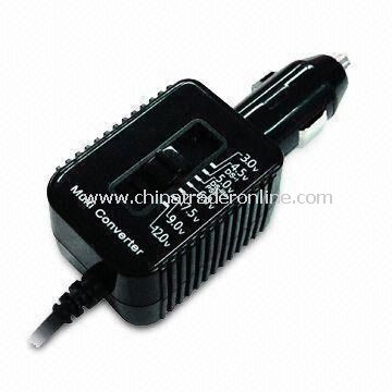 DC/DC Multi-voltage Converters with Cord Length of 1m, Ideal for Video Games