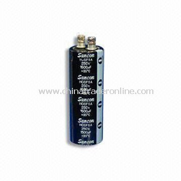 Electrolytic Capacitor with Rated Voltage of 400 to 450V, Used for Converter