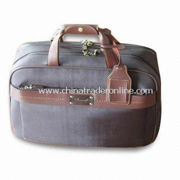 Flight/Duffel Bag, Customized Designs are Accepted, Made of Full Grain Leather