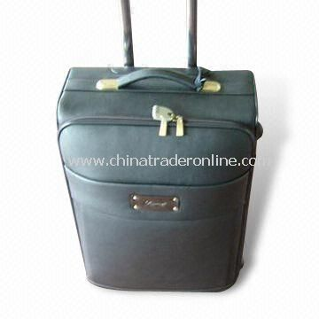Flight/Trolley Bag, Available in Black, Customized Designs are Accepted