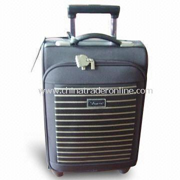 Flight/Trolley Bag, Available with Nylon Lining, OEM and ODM Orders are Accepted