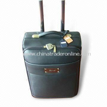 Flight/Trolley Bag, Customized Designs are Accepted, Available in Black