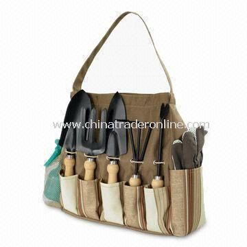 Garden Tools Carry Bag with Large Storage Compartment, Measuring 33 x 10 x 30cm
