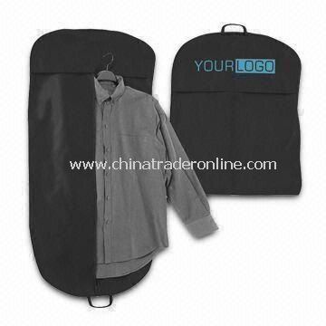Garment Bag, Suit Cover, Made of Nonwoven Fabric, with Full Colors Printing