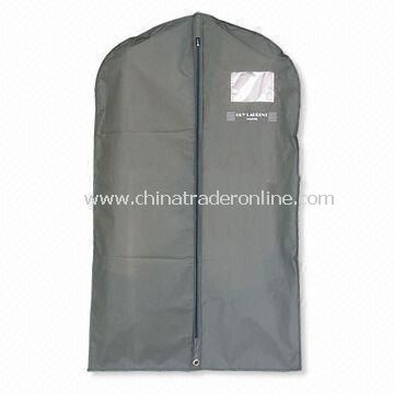 Garment Bag/Suit Cover with Zipper in Middle, Made of Non-woven, Customized Sizes are Accepted