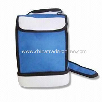 Insulated Cooler Bag with PVC Foam or Aluminum Film, Easy to Carry, Customized Designs Accepted