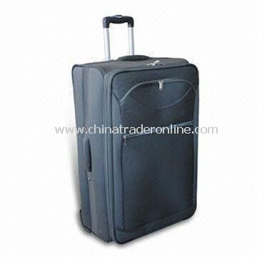 Luggage Set with 190T Polyester, Expandable System, EVA Panel for Both Front and Sides