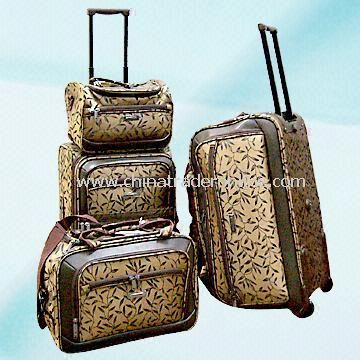 Multifunction Travel Set with 20-/24-inch Trolley, 26-inch Trolley Bag and 16-inch Flight Bag