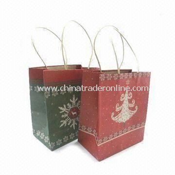 Paper Carry Bag with String Handle, OEM Orders Accepted