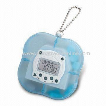 Pill Case with Timer, Customized Specifications Welcomed
