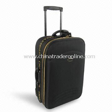 Trolley Case/Luggage Set with Golden Zipper, Available in Various Sizes