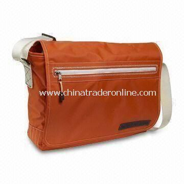 Canvas and Polyester Messenger Bag, Available in Various Styles and Colors