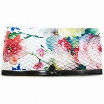 Coin Purse, Suitable for Ladies, Made of PU, Available in Various Sizes from China