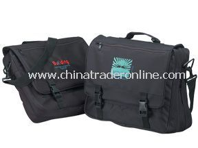 Expandable briefcase - 600D polyester/pvc backing
