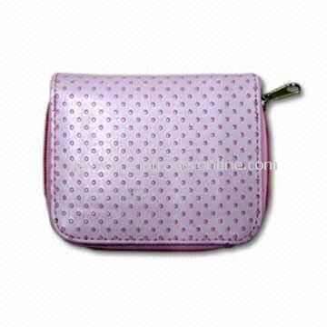 Girls Coin Purse, Available in Various Colors and Designs, Made of PU Leather