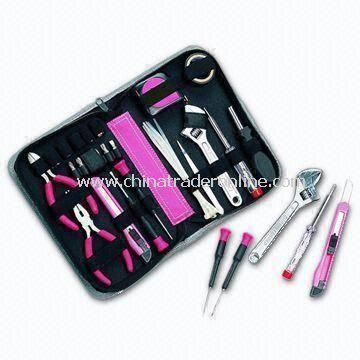 Hand Tool Kit, Composed of Screwdriver Set, Hand Plier, Repair Tools, Monkey Wrench, and Other Tools