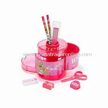 High School Musical Sharpay Desk Tidy, Character Print and Sparkly Details