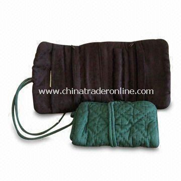 Jewelery Roll Bag, Made of 100% Cotton, Measures 7 x 32cm from China
