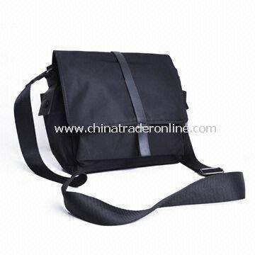 Leather Briefcase with Comfortable Shoulder Strap, Customized Designs are Accepted