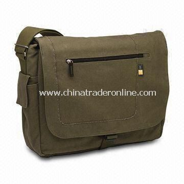 Messenger Bag, Comes in Various Styles and Colors, Made of Polyester and Canvas