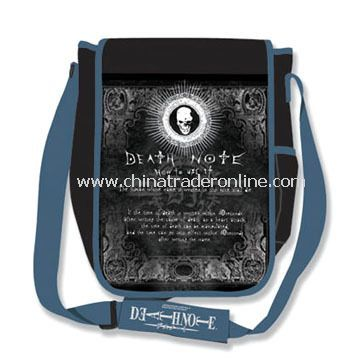 Messenger Bag/Shoulder Bag, Available in Various Designs, Made of Printed Polyester from China