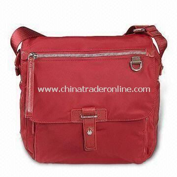 Messenger Bag with Softback Style and Exterior Pockets