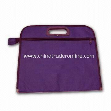 Messenger Bag with Two Zipper Pockets, Measures 32 x 32cm, ODM/OEM Orders are Accepted