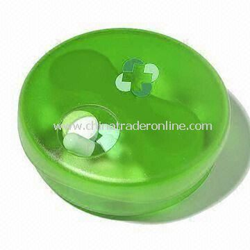 Pill Case with Logos Printing, Various Colors are Available