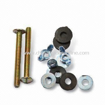 Toilet Repair Kit, Used To Attach Toilet Tank to Toilet Bowl, Washer and Nuts