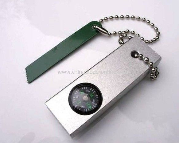3 in1 keychain compass camping Outdoors
