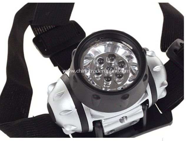 7LED headlights searchlights/outdoor camping lamp/camping miners/fishing lamp LED lamp from China