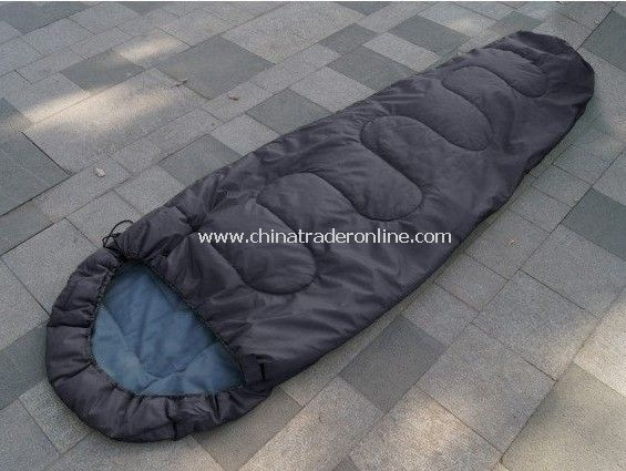 Camping sleeping bag limit - 5 degrees /High Quality Outdoor Camping Mummy Style Cotton Sleeping bag