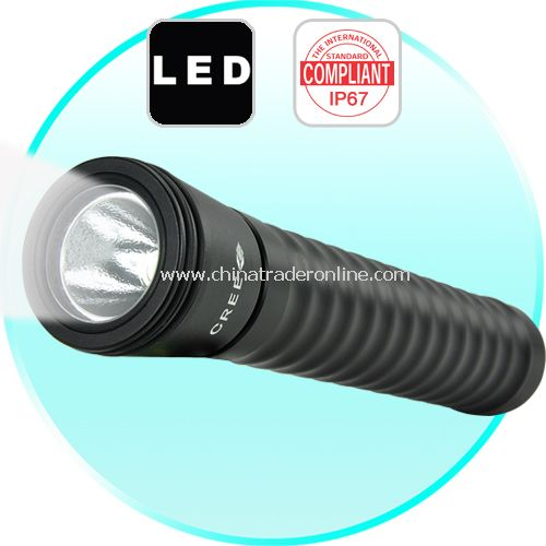 Waterproof CREE LED Flashlight