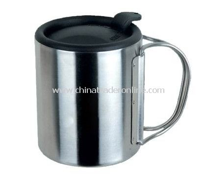 300 mL Stainless Steel Mug Camping Outdoor Hiking