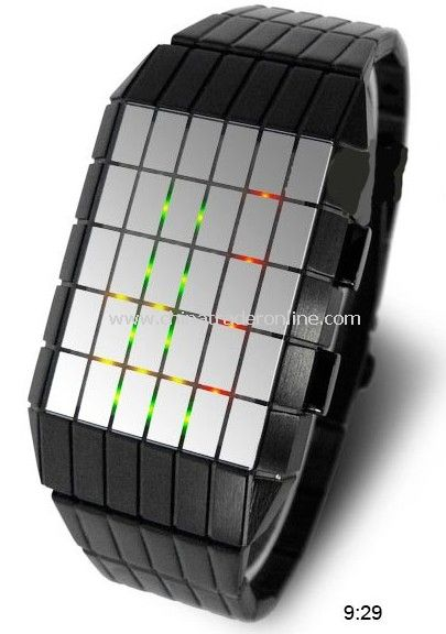 2010 fashion Cool LED Light Digital LED Watch Germany design
