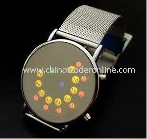 2011 led watch nstructions manual,led watch ,mirror LED watch