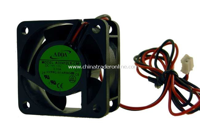 ADDA AD0412LX-C50 40x40x20mm 2-Pin Fan, P/N: AD0412LX-C50