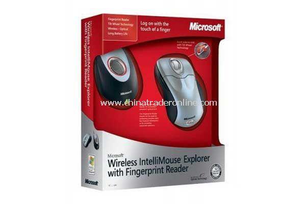 Microsoft Wireless IntelliMouse Explorer & Fingerprint Reader