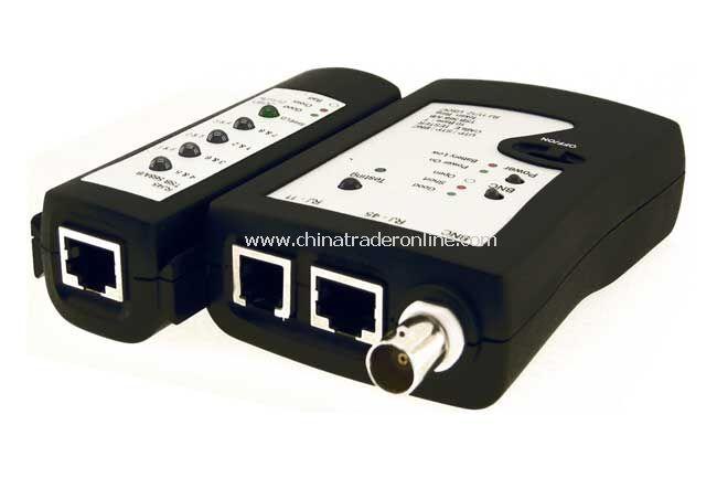 RJ45 / RJ12 / BNC Cables Tester