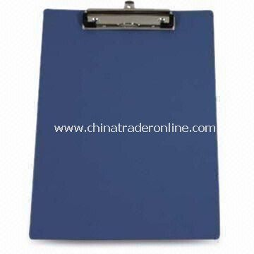 Clip Board, Sized 215 x 118mm and Customized Logos Welcomed