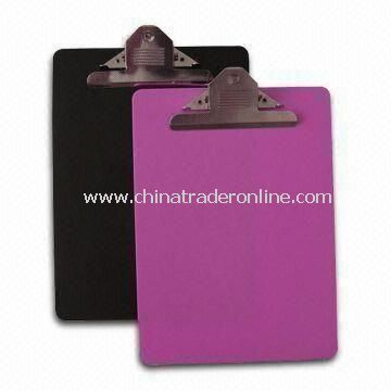 Clip Boards, Measures A4, Customized Logos and Colors are Welcome