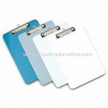 Clip Boards with A4 Size, Customized Logos are Welcome