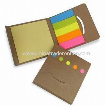 Kraft Card Cover Sticky Note Pads for Pharmaceutical Company Gift, OEM/ODM Orders are Welcome