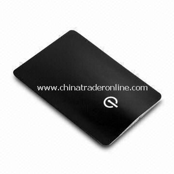 LED Credit Card Lamp, Made of PVC and ABS Materials, Large Space for Printing for Promotional