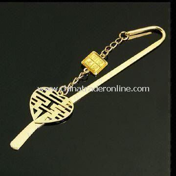 Letter Opener/Bookmark with Delicate Pendant, Customized Designs Accepted