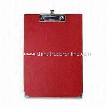 Lightweight Clip Board, Made of PP, Protects Documents and Menus, Measures 310 x 240mm